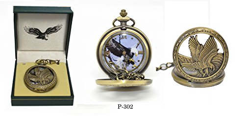 Eagle Pocket Watch P-302, used for sale  Delivered anywhere in USA