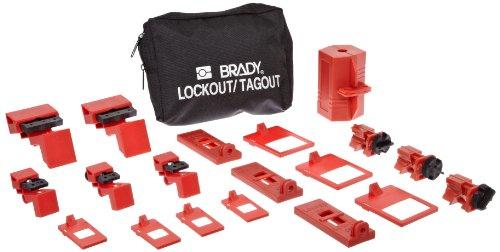 - Brady 65405 Breaker Lockout Pouch (1 Kit)