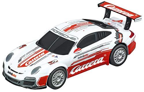 Carrera GO!!! Analog Slot Car Racing Vehicle - 64103 Porsche GT3 Cup - Lechner Racing Carrera Race Taxi - (1:43 Scale) (Cup Gt3 Porsche)