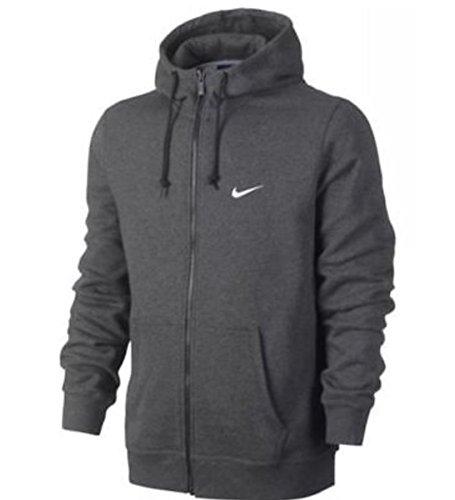 Nike Men's Club Fleece Full Zip Hoodie Large (Nike Zip Time All Full Hoodie)