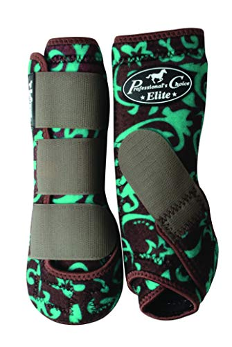 (Professional's Choice Equine Sports Medicine Ventech Elite Limited Edition Value Pack Leg Boot,)