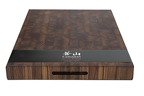Cangshan 1022360 Walnut End-Grain Cutting Board,16 x 22 x 2'', Crafted in USA by Cangshan (Image #5)
