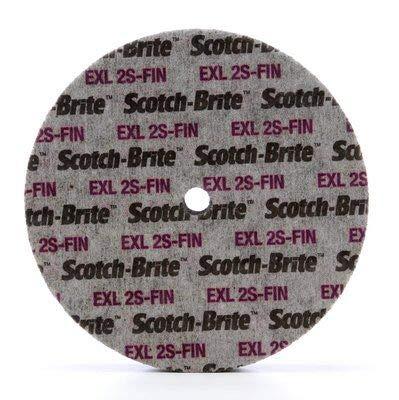 4-Pk 3M Scotch-Brite 15831 EXL Unitized Wheel 6 Inch X 1//2 Inch X 5//8 Inch 2S FIN //// 7100106744