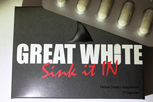 Great White (White Pill) MALE ENHANCEMENT FORMULA ******Warning Herbal Product that is Just as strong as Prescription.