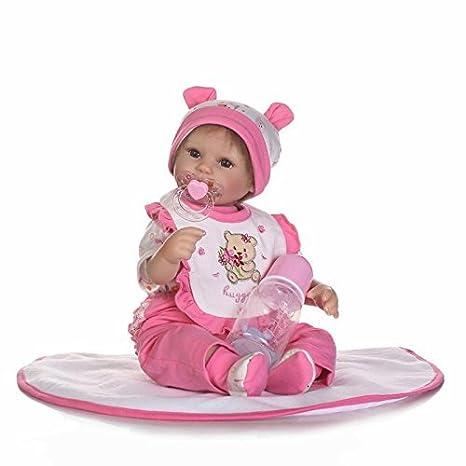 Muñeca de bebé recién nacido, muñeca de silicona realista, muñeco ...