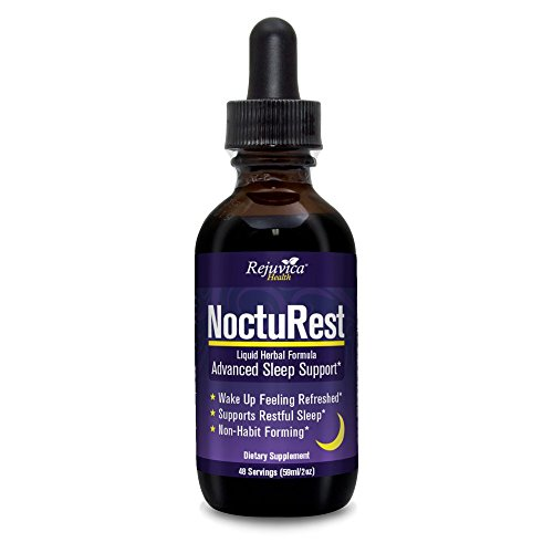 NoctuRest – Fast, Advanced Sleep Supplement | All-Natural Liquid Formula for 2X Absorption | Melatonin, Magnesium, Chamomile & More