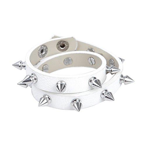Premium Studded Leather Bracelet Choker product image