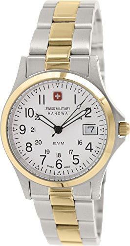 Swiss Military Hanowa Men's 06-5013-55-001 Silver Stainless-Steel Swiss Quartz Watch