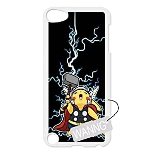 Pikachu Ipod Touch5 Phone Case, Pikachu DIY Case for Ipod Touch5 at WANNG