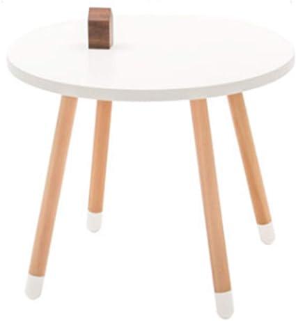 AZWE Gambe per tavolo da pranzo in legno, gambe per mobili