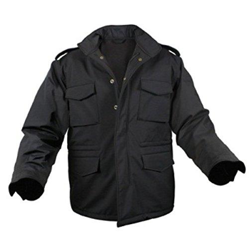 ROTHCO(ロスコ) ソフトシェルタクティカル M65フィールドジャケット ROGT140980 ブラック L B07D1LS615