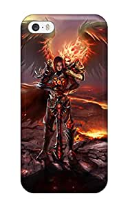 Premium [LFPOy52146PocKI]fire Angel Case For Iphone 5/5s- Eco-friendly Packaging