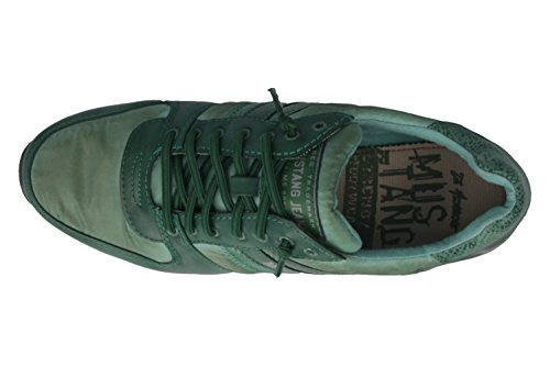401 Mustang Femme Basses Vert 1226 Sneakers awzSw