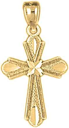 Jewels By Lux 18K Yellow Gold .4330 X .0415 Polished Guardian Ii Post