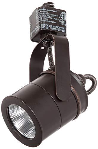 LITHONIA LIGHTING LTIHSPLT 27K ORB M4 Spotlight 1 Oil-Rubbed Integrated LED Track Lighting Head, 7.00×4.13×2.50, Bronze