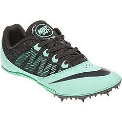 Nike Women's Zoom Rival S 7 Track Spike Shoe, Mintblack