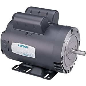 Leeson pressure washer pump electric motor 2 for Pressure washer pump electric motor