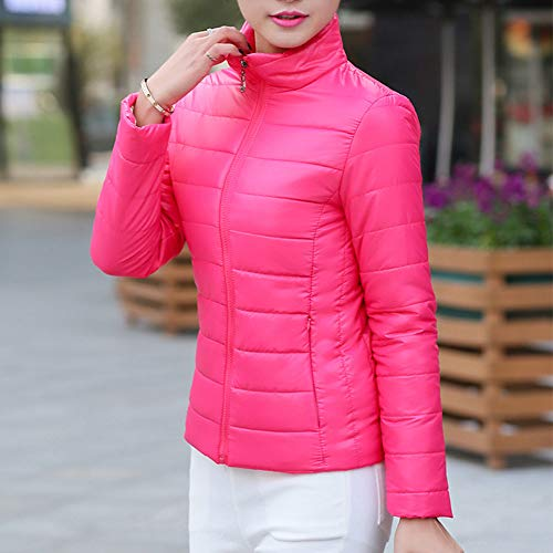 Rouge Capuche Mode Veste Hiver De Hoodie Shobdw Rose Pullover Montant Chaud Tops Parka À Minces Sweatshirt Manteau Femme Blouson Col Blouse w4FwTnRq7