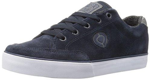 Adrian Lopez Skate Shoes (C1RCA Men's AL50 Slim Skateboarding Shoe, Navy/Gray/White, 7 M)