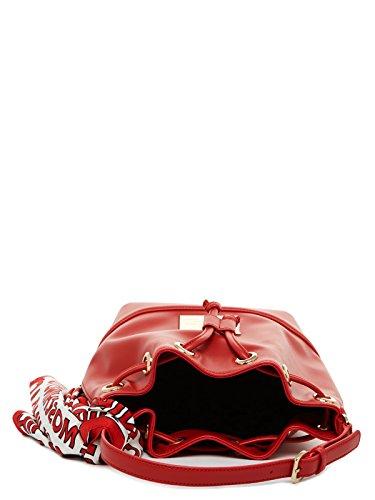 Love Moschino - Bolso estilo cartera para mujer negro negro