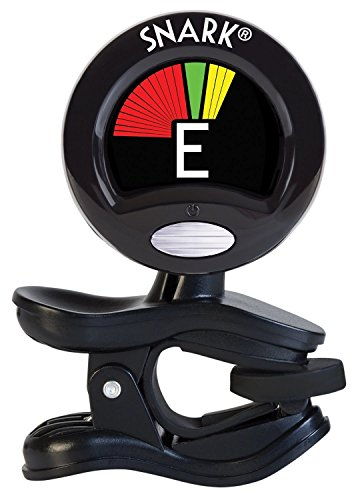 Snark SN5X Clip-On Tuner for Guitar, Bass & Violin (Current Model) (1 Gadget Bag)