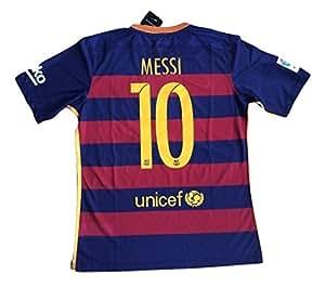 Barcelona Messi y # x2116; 10oficial camiseta de la temporada