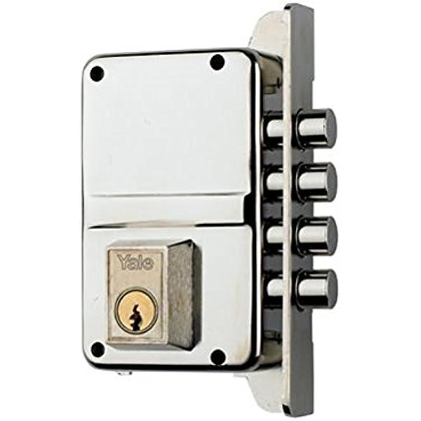 Yale 3010015 Cerradura de Sobreponer Alta Seguridad: Amazon.es ...