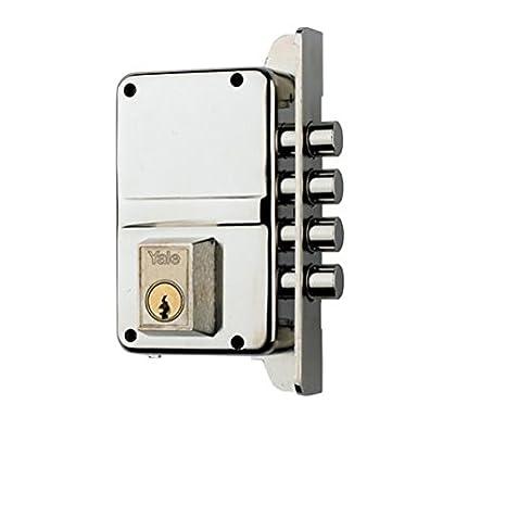 Yale 3010015 Cerradura de Sobreponer Alta Seguridad: Amazon.es: Bricolaje y herramientas