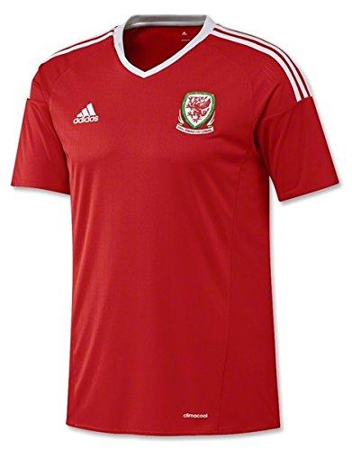 カロリー違うポンプadidas(アディダス) サッカー ウェールズ代表 ホームユニフォーム 2016 Soccer Wales National Team Home Shirt 2016 [並行輸入品]
