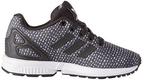 adidas Unisex-Kinder ZX Flux C Gymnastikschuhe Grau (Core Black/core Black/ftwr White)