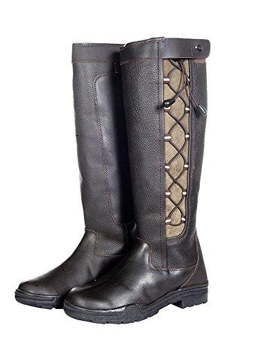 HKM–Botas de Fashion Madrid invierno De Membrana Marrón - marrón oscuro