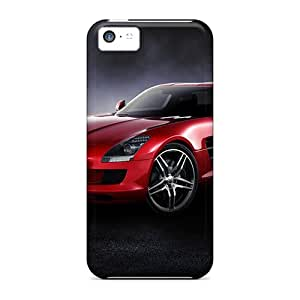 New Dmq12343TaTQ Red Sls Skin Cases Covers Shatterproof Cases For Iphone 5c