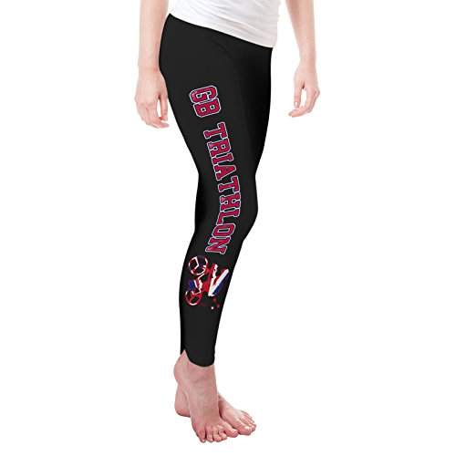 Twisted Envy Women's GB Triathlon Leggings Large - Triathlon Gb