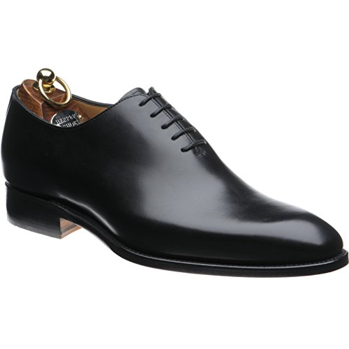 Herring Aringa Chaucer Wholecuts In Vitello Nero Nero black Calf 44