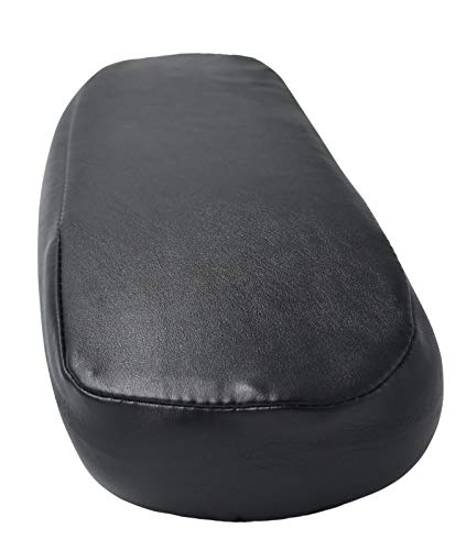 OfficeLogixShop - Leather Arm pad Cover for Herman Miller Aeron Chair - No Need to Replace Damaged Aeron Armpad