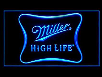 Amazon miller high life beer bar led light sign home kitchen miller high life beer bar led light sign aloadofball Images