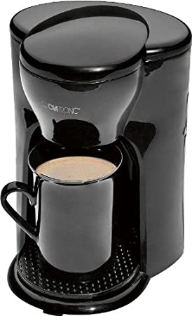 Un tazas Cafetera Eléctrica (un Personas Cafetera Incluye - Taza de cerámica, superficie antideslizante, permanente filtro de nailon): Amazon.es: Hogar