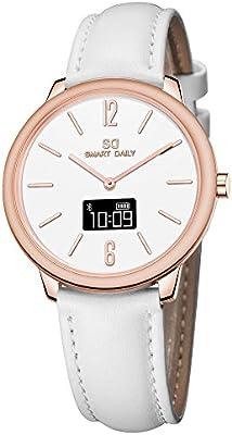 Amazon.com: X1 para mujer híbrida inteligente reloj ...