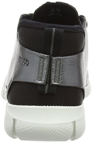 Ecco Vrouwen Intrinsieke Chukka Fashion Sneaker Dark Shadow Metallic