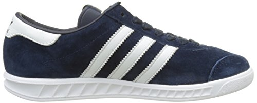 bajas UK adidas Footwear 'Hamburg Zapatillas White azul Unisex Collegiate 11 Metallic Navy Adults Blue Gold 0dU5qwq