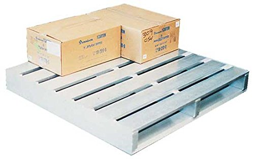 Aluminum Pallet - BAP Series; Overall Size (W X D X H): 40'' x 48'' x 6''; Floor (Static) Capacity (LBS): 6,000; Fork (Dynamic) Capacity (LBS): 4,000; Racking Capacity (LBS): 6,000
