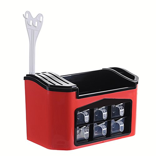 Home Kitchen Multifunction White Condiment Box Cutlery Stora