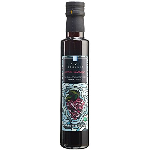 Idyll Organic Sweet Vinegar from Greece, 8.5 oz