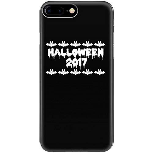 Halloween 2017 Funny Cat Bat - Phone Case Fits iPhone 6 6s 7 8]()