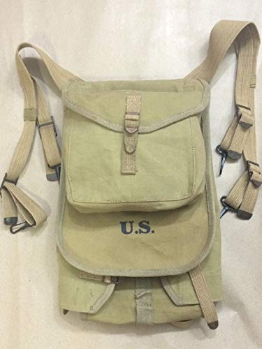 (WWII US M1928 Haversack Backpack