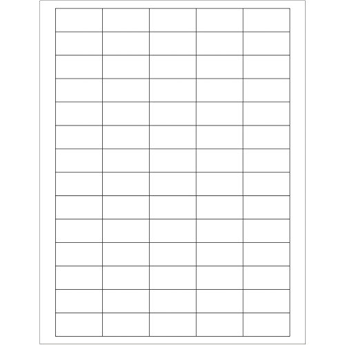 Boxes Fast Rectangular Laser Labels, 1 1/2 x 3/4, White, (Pack of 7000) by Boxes Fast