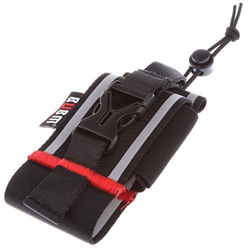 Dovewill BUBM Nylon Case Armband Waist Belt Bag Holder Pouch for Walkie Talkie Radio Intercom by Dovewill