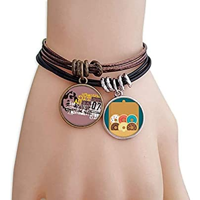 SeeParts Graffiti Street Culture Urban Tribe Bracelet Rope Doughnut Wristband Estimated Price £9.99 -