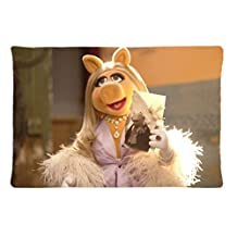 Muppet Show Muppets Kermit Miss Piggy Custom Pillowcase Rectangle Pillow Cases 20x30 Inches (one side)
