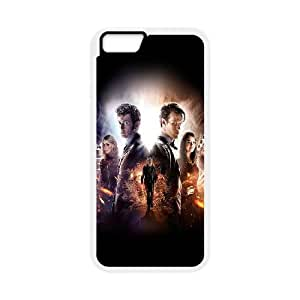iPhone 6 Plus 5.5 Inch Cell Phone Case White Doctor Who 50Th Poster Film Face GY9269774